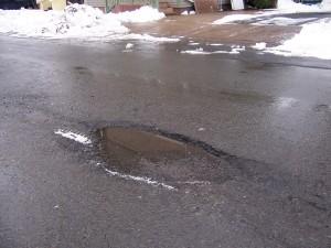 Pothole Hole of Fame #1.